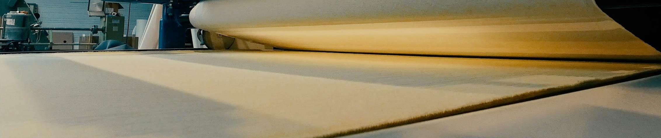 Calandrage tapis / rouleaux